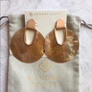 Kendra Scott Jewelry - Kendra Scott Diane Rose Gold Statement Earrings